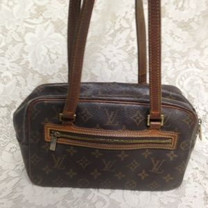 Rare, Louis Vuitton Mono Cite Handbag-Shoulder Bag
